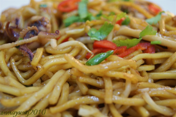 """mee goreng - close up"""