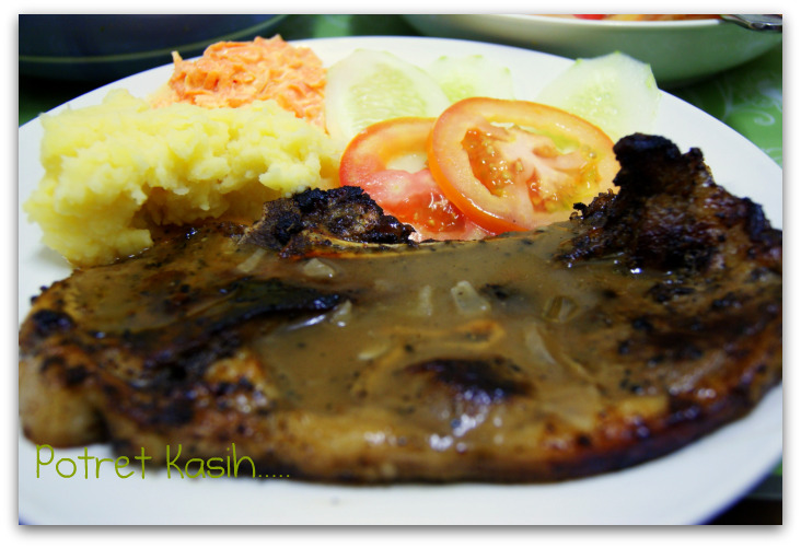 Grilled Marinate Lamb Chop Kambing Panggang Perap